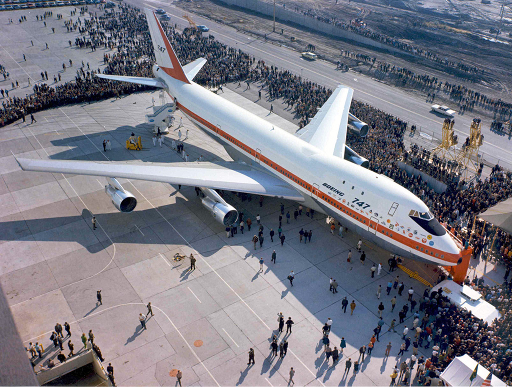 Boeing 747 Rollout 1969-09-30