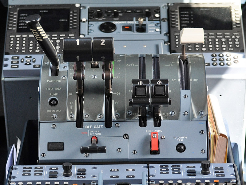 ATR 72-600 Engine Controls